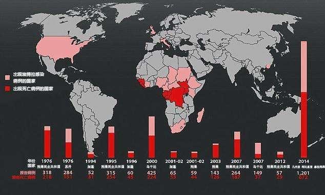 非洲仅三例感染人数