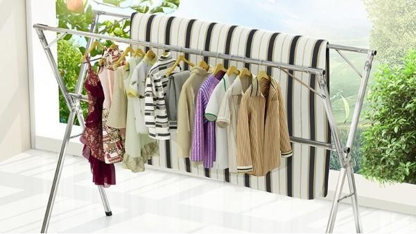 晾衣架厂家告诉你折叠晾衣架有哪些便捷地方