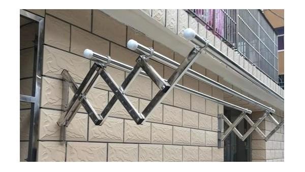 1米阳台伸缩晾衣架