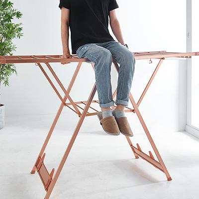 落地折叠晾衣架