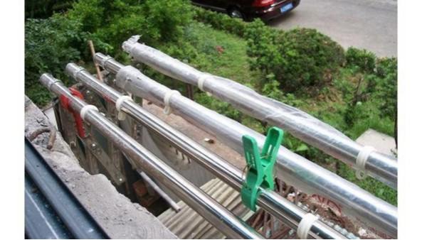 阳台伸缩晾衣架6米