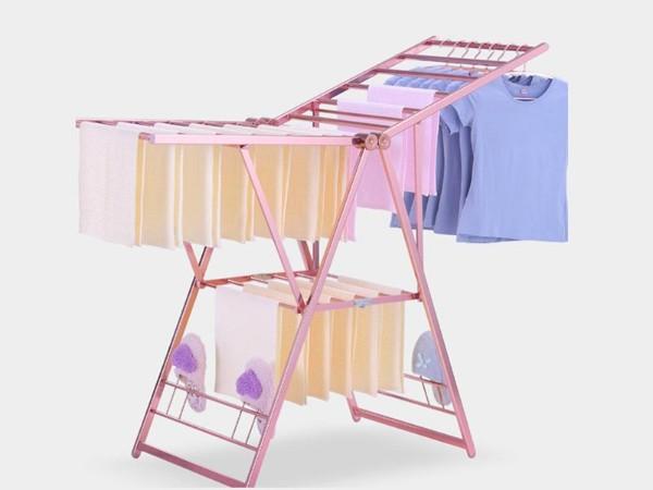 折叠翼型晒衣架